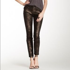 7 For All Mankind Gwenevere Moon Metal Jean